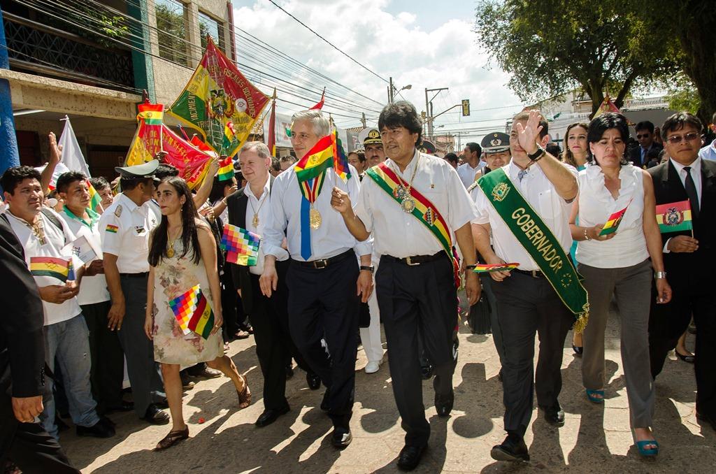 Tarija y Santa Cruz concentrarán los actos oficiales por el 6 de Agosto