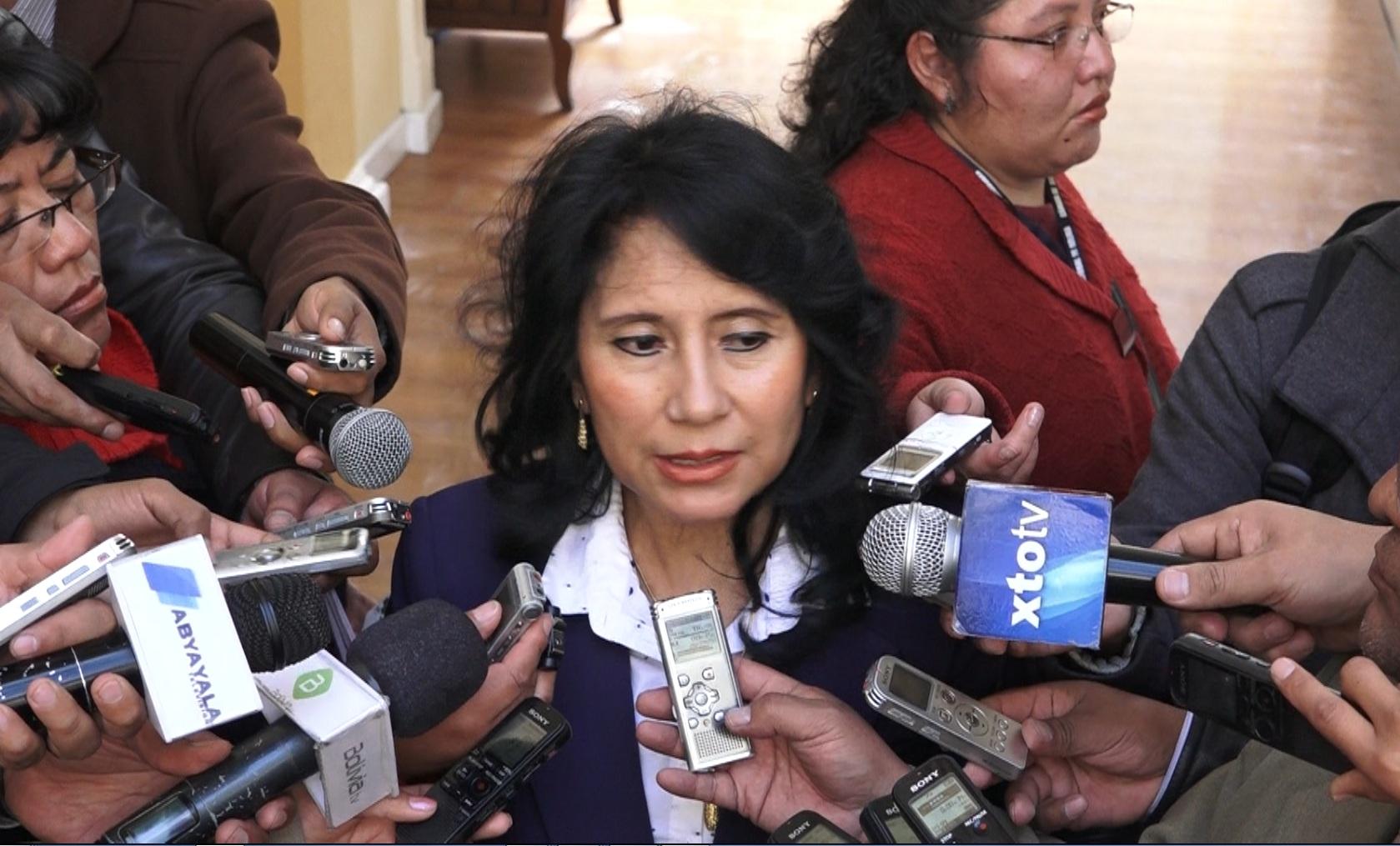 Mirtha Arce: Bolivia necesita una oposición con propuestas de país y no que busque acomodos políticos y continuismos en cargos jerárquicos