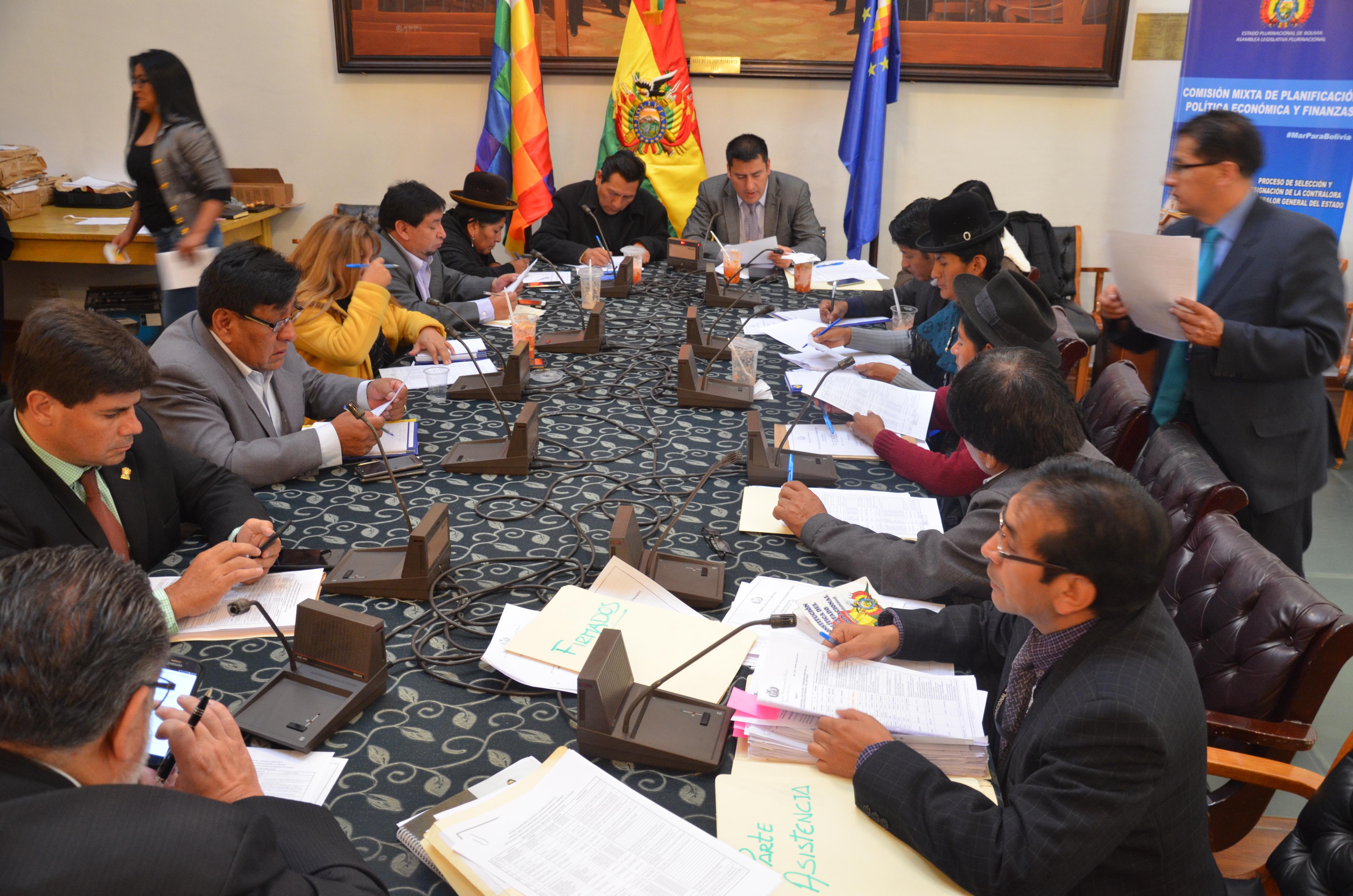 Comisión Mixta de Planificación declara nueva pausa en la revisión de requisitos habilitantes a Contralor