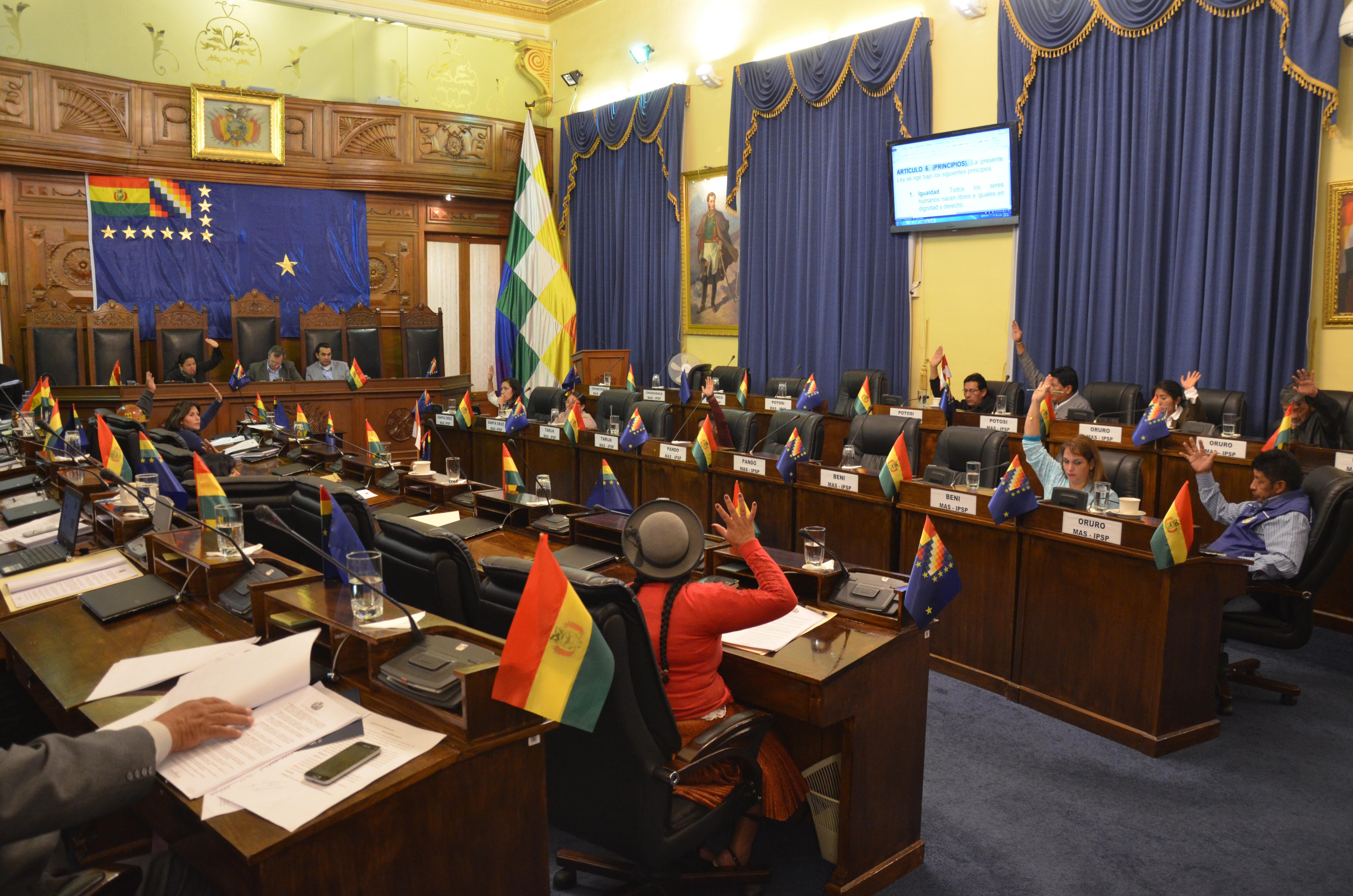 Senado sanciona Ley de Identidad de Género que permite a personas transexuales y transgénero cambiar su nombre legalmente