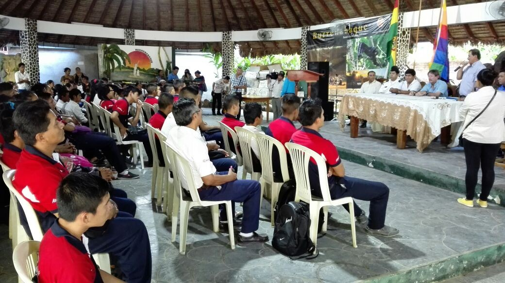 Inauguran Proyecto de Orientación y Test Vocacional en el municipio de Reyes – Beni