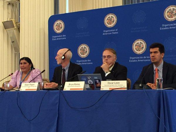 Senadora Nélida Sifuentes destaca en Foro Internacional avances en nuevas tecnologías