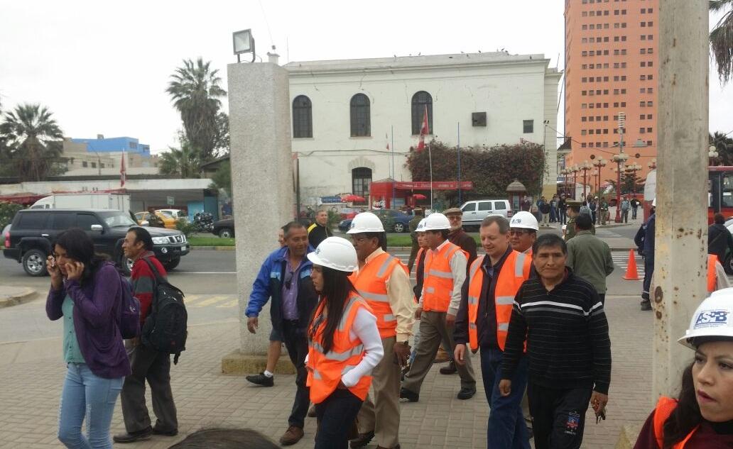 Gonzales lamenta restricciones de ingreso a la comitiva boliviana que visita el puerto de Arica