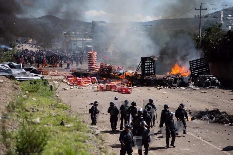 Senado pide justicia para fallecidos y detenidos en manifestaciones de Oaxaca - México