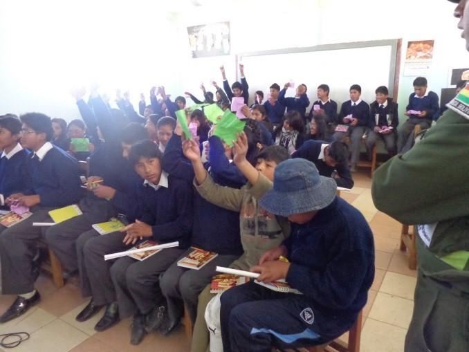 Senado aprueba distinción a la Policía Comunitaria de El Alto en su VI aniversario de creación