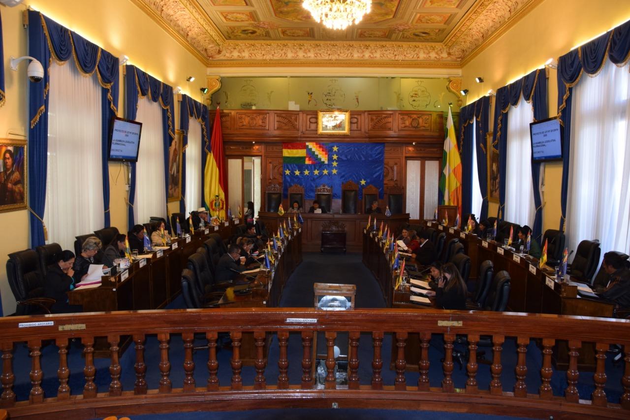 La Cámara de Senadores reconoce destacada labor de dos Unidades Educativas de La Paz