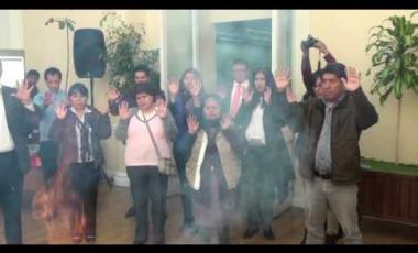 Embedded thumbnail for Asamblea Legislativa cierra Agosto con un Wajt'a a la Pachamama