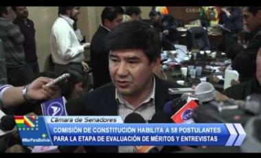 Embedded thumbnail for Comisión de Constitución habilita a 58 postulantes para la etapa de evaluación de méritos y entrevistas