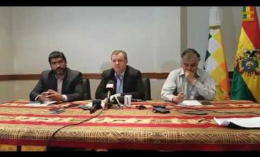 Embedded thumbnail for 1 Gonzales informa sobre visita de la comisión boliviana a Buenos Aires - Argentina