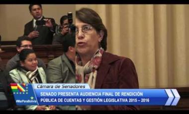 Embedded thumbnail for Senado cierra legislatura 2015-2016 con 94% de ejecución presupuestaria y 124 leyes que rigen en el territorio nacional
