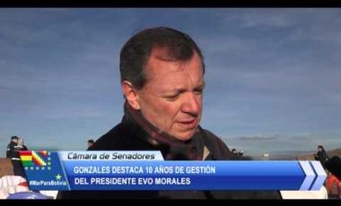 Embedded thumbnail for Tiwanaku: Gonzales destaca 10 años de gobierno del presidente Evo Morales