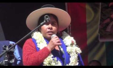 """Embedded thumbnail for Senado entrega Declaración Camaral a la CNMCIOB-BS en el """"Día Internacional de la Mujer Indígena"""""""