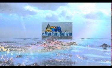 Embedded thumbnail for ¡Bolivia unida a una sola voz exclama #MarParaBolivia!