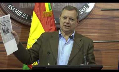 Embedded thumbnail for Gonzales señala que cuoteadores no pueden venir a dar lecciones de preselección de autoridades judiciales
