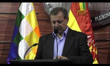 Embedded thumbnail for Presidente del Senado responde a las amenazas de Sánchez Berzaín