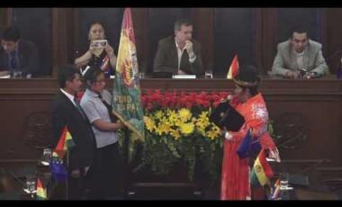 """Embedded thumbnail for Condecoración Franz Tamayo a la """"Unidad Educativa Instituto Adventista Los Andes"""""""
