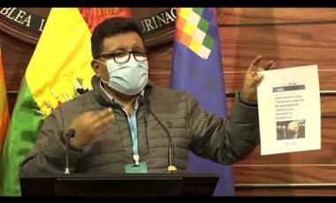 Embedded thumbnail for Senador Chambi rechaza la judicialización de la politica