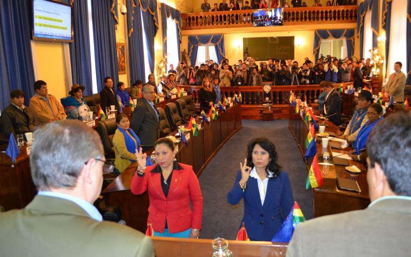 Gómez y Arce completan Comisión de Ética en Senado 2016 - 2017